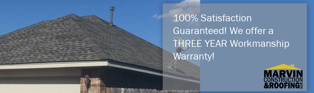 Three year workmanship warranty